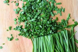Chives as Vegetable